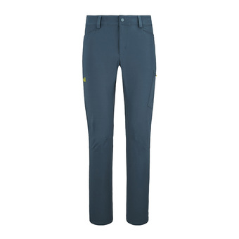 Millet WANAKA STRETCH - Pants - Men's - orion blue/wild lime