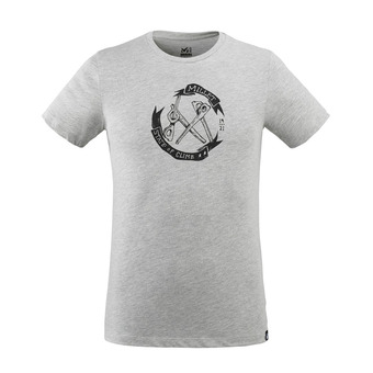 OLD GEAR TS SS M Homme HEATHER GREY