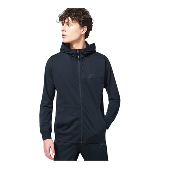 FOUNDATIONAL TRAINING HOODIE FZ Homme Blackout