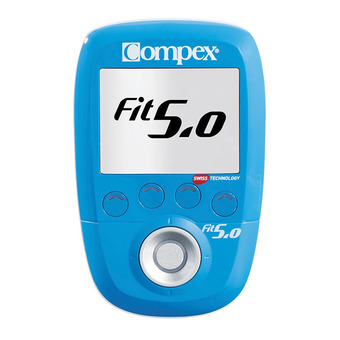 Compex FIT 5.0 WIRELESS - Electroestimulador blue