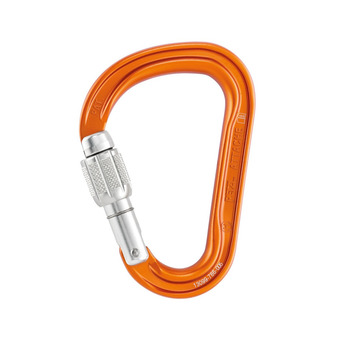 Petzl ATTACHE SCREW-LOCK - Mosquetón orange