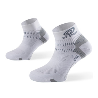 Socquettes de running LIGHT ONE blanc