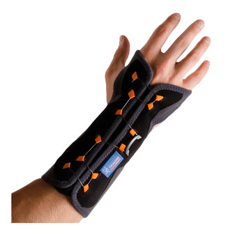 Immobilisation wrist band with Boa® tightening system