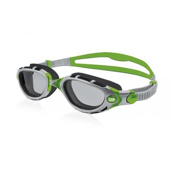 Lunettes de natation PREDATOR FLEX REACTOR silver/green photochromiques