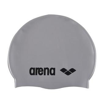 Gorro de natación CLASSIC silver/black