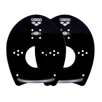 Plaquettes de natation ELITE HAND PADDLE black/silver