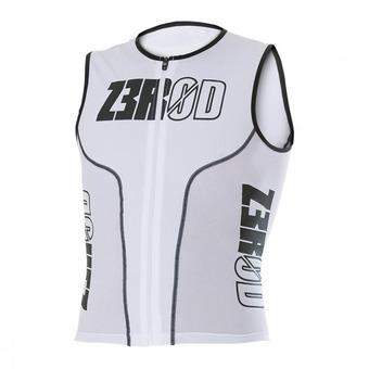 Z3Rod ISINGLET - Triathlon Jersey - Men's - white armada