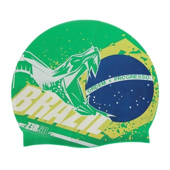 Z3Rod NATIONAL PRIDE - Swimming Cap - brazil