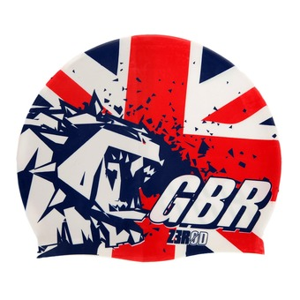 Gorro de natación NATIONAL PRIDE great britain