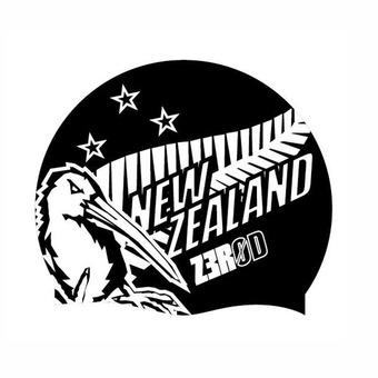 Z3Rod NATIONAL PRIDE - Swimming Cap - new zealand
