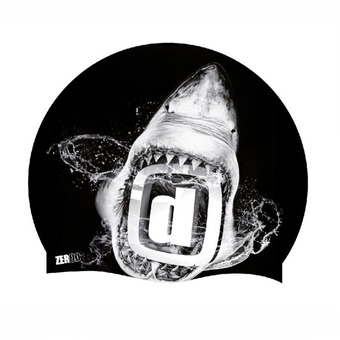 Z3Rod SHARK - Gorro de natación black/white