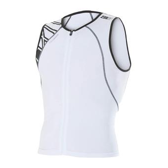 Camiseta uSINGLET armada white
