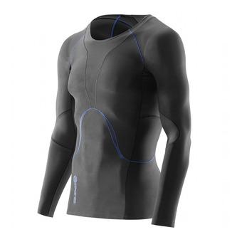 Camiseta hombre RY400 graphite/blue