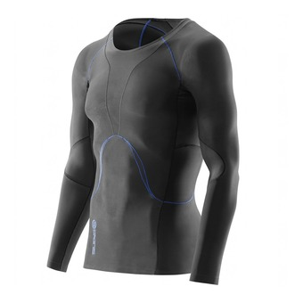Skins RY400 - Maillot Homme graphite/blue