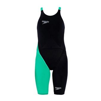 Traje mujer FASTSKIN® LZR RACER ELITE 2 black/green