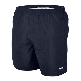 "Short de bain homme SOLID LEISURE 16"" navy"