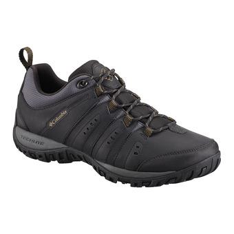 Columbia WOODBURN II - Chaussures randonnée Homme black/goldenrod