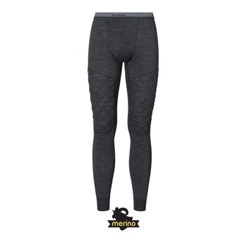 Mallas hombre NATURAL + X-WARM black melange