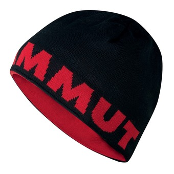 Bonnet réversible MAMMUT LOGO black/inferno