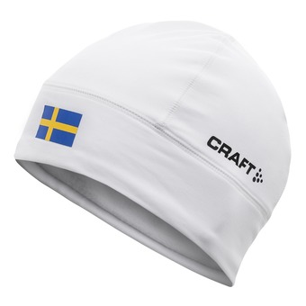 Craft NATION - Gorro white/sweden