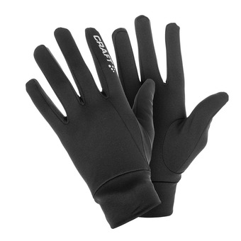 Guantes de running THERMAL negro