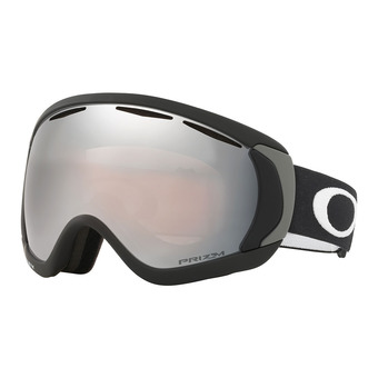 Oakley CANOPY - Gafas de esquí matte black/prizm black iridium