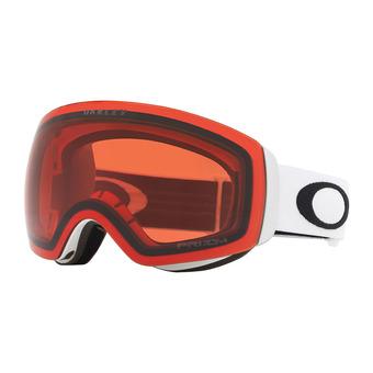 Oakley FLIGHT DECK XM - Gafas de esquí matte white/prizm pink