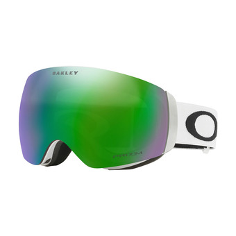 Oakley FLIGHT DECK XM - Masque ski matte white/prizm jade iridium