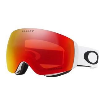 Oakley FLIGHT DECK XM - Ski Goggles - matt white/prizm torch iridium