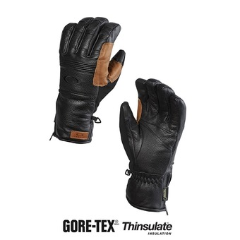Guantes de esquí hombre SILVERADO GORE-TEX jet black