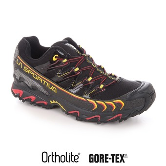 La Sportiva ULTRA RAPTOR GTX - Chaussures trail Homme black/yellow