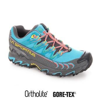 Zapatillas de trail mujer ULTRA RAPTOR GTX malibu blue/coral