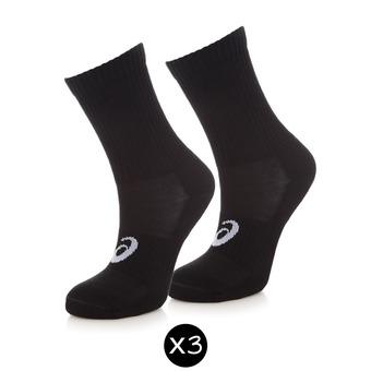 Lot de 3 paires de chaussettes 3PPK CREW black