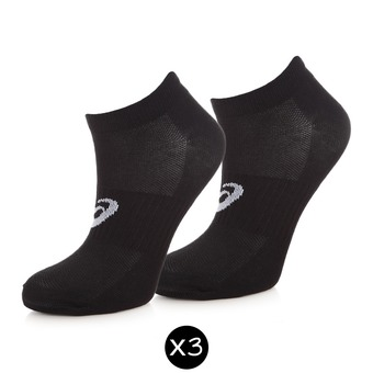 Pack de 3 pares de calcetines 3PPK PED black