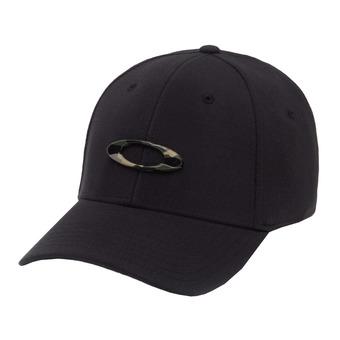 Oakley TINCAN - Gorra black/graphic camo