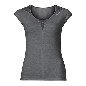Tee-shirt MC femme REVOLUTION X-LIGHT steel grey melange