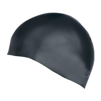 Speedo PLAIN MOULDED - Swimming Cap - black