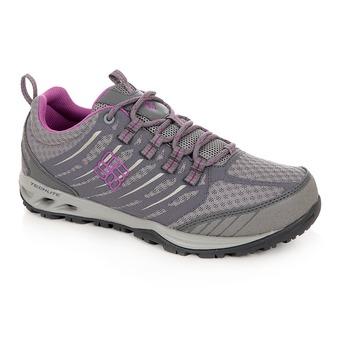 Zapatillas de senderismo mujer VENTRAILIA™ RAZOR OUTDRY light grey/razzle