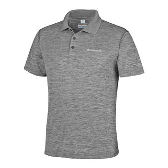 Polo hombre ZERO RULES shark heather