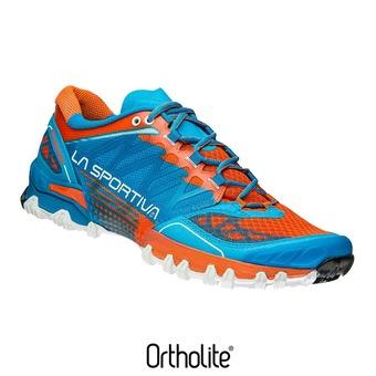 Zapatillas de trail hombre BUSHIDO blue/flame