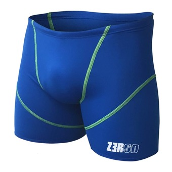 Swimming Trunks - BOXERS royal blue/fluo