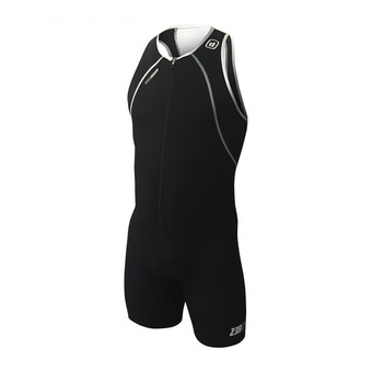 Z3Rod USUIT FRONT ZIP - Tritraje hombre black/white