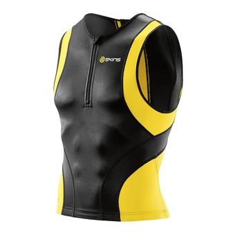 Sleeveless Trifunction Jersey - Men's - TRI400 black/yellow