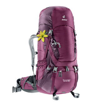 Sac à dos femme 50+10L AIR CONTACT mûre/aubergine