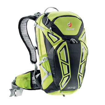 Deuter ATTACK ENDURO 16L - Zaino mela/nero