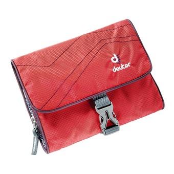 Bolsa de aseo WASH BAG I rojo/berenjena