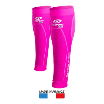 Manchons de compression BOOSTER ELITE rose