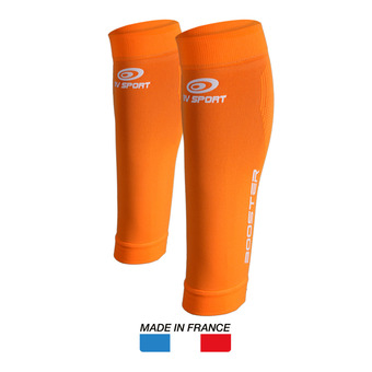 Manchons de compression BOOSTER ONE orange