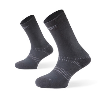 Bv Sport DOUBLE - Chaussettes antracite
