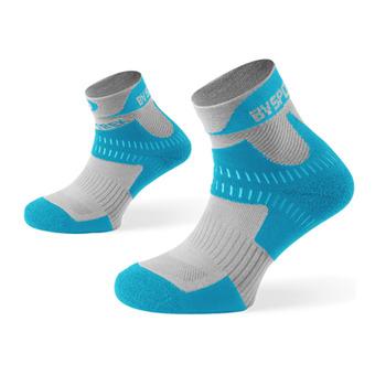 Hiking Ankle Socks - TREK grey/blue